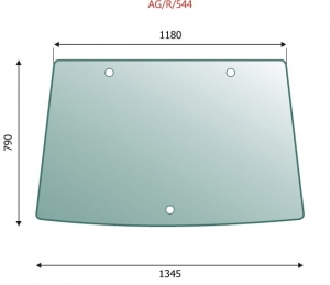 Windscreen John Deere 6000  series