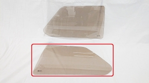 Left back side glass  brown VW Golf MK1 1974-1983 3D hatchback