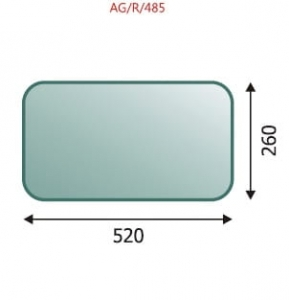 Rear lower glass Ursus
